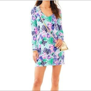 NWT LILLY PULITZER MULTI QUILL OUT BEACON DRESS